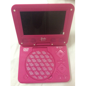 Dvd Portatil Tectoy Semi Novo Barbie Completo