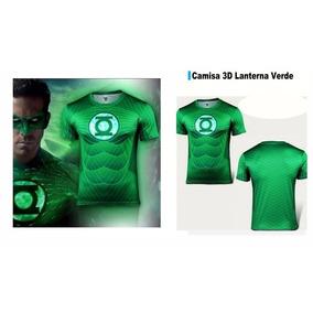 Camisa 3d Lanterna Verde, Marvel Super Herois