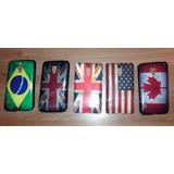Capinha Bandeira P/ Lg Optimus Dual L7 2 Ii P715 P716