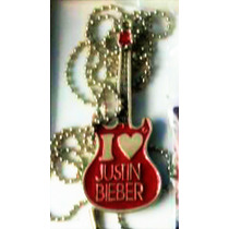 Arg Collar I Love Justin Bieber Unico Genial Pop Bilibers
