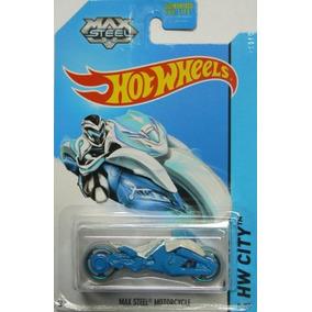 Hot Wheels 2014 Hw Ciudad Tooned 1 Max Steel Moto 85/250