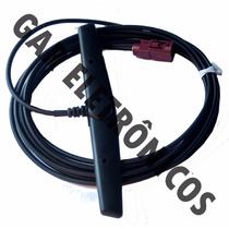 Antena Conector Fakra Tv Digital Gps Multimídia Veículos