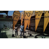 Fabricación De Banderas Publicitarias En L Invertida, Gota,