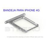 Bandeja Porta Chip Sim Tray Para Iphone 4 4s Repuesto