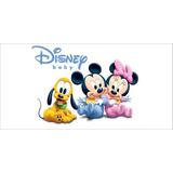 Painel Decorativo Festa Turma Do Mickey Baby [2x1m] (mod1)