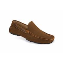 Zapatos Mocasines Casuales Mega 1673 Nobuck Visone