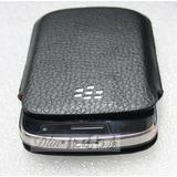 Estuche En Cuero Pouch Blackberry 9900, 9930, 9800, Original