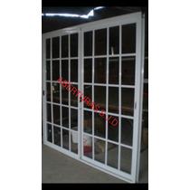 Puerta Ventana Balcon 240x200 Vidrio Repartido