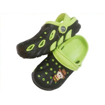 Zuecos N° 29 Sandalia Goma Infantil T/crocs Sueco Nene Nena