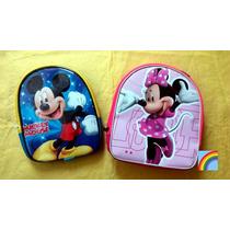 10 Mochilas Dulcero Mimi Mouse Mickey Mouse Minnie Micky