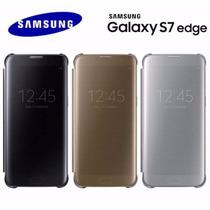 Flip Cover S7 Edge Original Samsung Funda S-view Envio $0