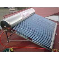 Calentador Solar 7 Pers Gratis En Df Y Edomex Flete Y Armado