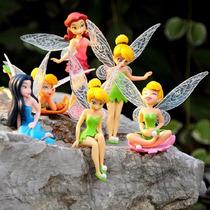 Tinker Bell Kit Com 6 Bonecas Sininho A Pronta Entrega