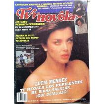 Vintage Revista Tv Novelas ( Lucia Mendez ) Años 80s