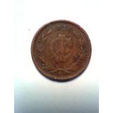 Un Centavo De Cobre Moneda Mexicana