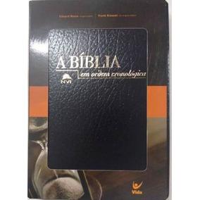 Bíblia Em Ordem Cronológica Covertex + Bíblia Estudo Nvi