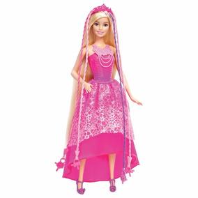 Boneca Barbie - Reinos Mágicos - Penteados Mágicos Mattel