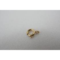 Fecho Bóia 7mm Ouro 18k - 750 +garantia Cód140
