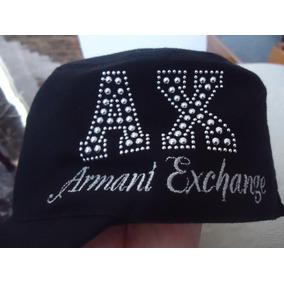 Gorra Armani Exchange Negra Original Dama 100% Original!!!!!