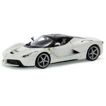 Ferrari Laferrari Bburago 1:18 Branco 16001-branco