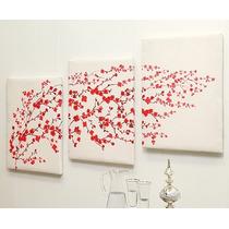 Juego De 3 Cuadros Decorativos Tokio Vianney Envio Gratis
