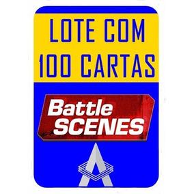 Battle Scenes - Lote - 100 Cartas