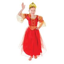 Traje Medieval - Niñas Pequeña Princesa Tudor Isabelino