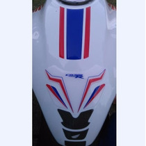 Adesivo Protetor Tanque + Faixa Relevo Moto Honda Cb 300 R