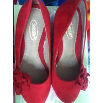 Zapatos Rojos Shosh, Num 24 Mx, Oferta, Nuevos En Caja