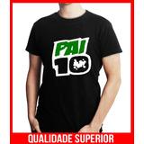 Camiseta Personalizada Dia Dos Pais Pai 10