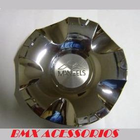 Calota Miolo Centro De Roda Elite Mangels Cromada Aros 15/17