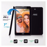 Tablet Aoc 7 / A724g/3g/color Negro Android 5.1.1/ Dual Sim
