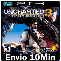 Uncharted 3 Drakes Deception [ Play3 Psn Dublado Português ]