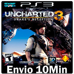 Uncharted 3 Drakes Deception [ Play3 Psn Dublado Português ]