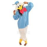 Disfraz Para Niño Donald Duck Kigurumi (todas Las Edades De