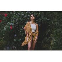 Kimonos De Seda Hindú. Varias Estampas. Modelos Únicos