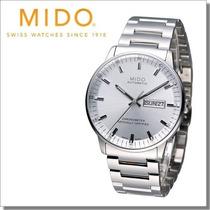 Relógio Mido Commander Ii Mens Silver Automatic