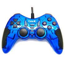 Havit Gamepad Joystic Alambrico Usb Ps3 Ps2 Pc Hv-g85 Azul