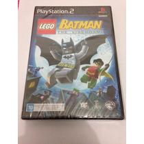 Lego Batman Playstation 2 Original Lacrado Ps2 Play 2