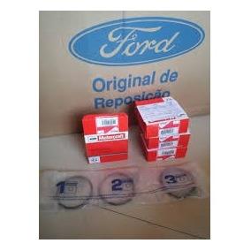 Jogo Aneis Ford Fiesta Ecosport 1.6 Std Original
