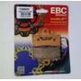 Pastilha Dianteira Ebc Fa 606 Hh Ktm Super Duke