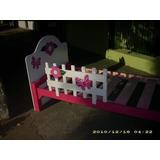 Cama Infantil Decorada De Una Plaza Para Niños