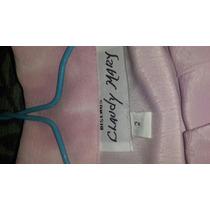 Elegante Conjunto En Color Rosa Palido Pantalon Y Camisa