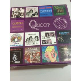 Cd Queen Box Singles Collection 1/ Lacre De Fábrica, Origina