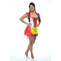 Saia De Festa Junina,quadrilha,caipira,junino,adulto,vestido