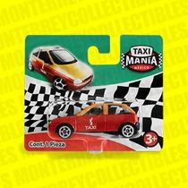 Taxi Mania Taxi Chevy Df Rojo Tipo Hot Wheels