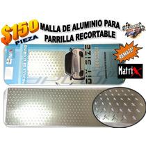 Malla De Aluminio Parrilla Matrix Recortable Remate