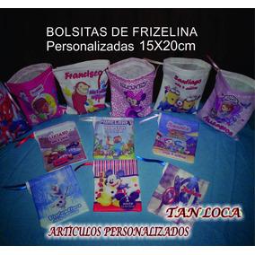 Pack De 10 Bolsitas De Tela Personalizadas X $75