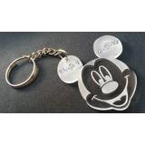 10 Llaveros Mickey Minnie Souvenirs Fiestas Cumpleaños