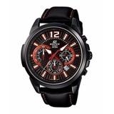 Reloj Casio Edifice Efr-535l-1a2v Cronografo Calendario Hot